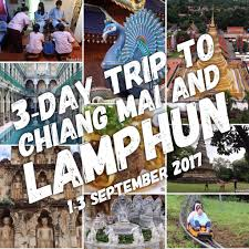 live blog trip to chiang mai and lamphun in september 2017