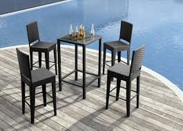 High Table Patio Furniture Bar Height Patio Furniture High Top Patio Table Patio Bar Stools