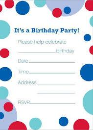 birthday invite template 100 free birthday invitation templates you will these