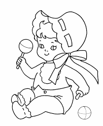 baby shower coloring pages free printable coloring pages free