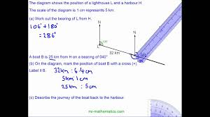 bearings and scale drawings youtube