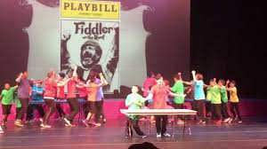 fiddler on the roof to broadway spectacular play