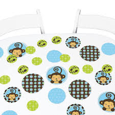 monkey boy baby shower decorations monkey boy baby shower favor stickers 324 count