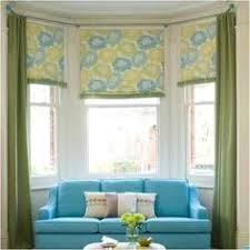 Kitchen Bay Window Curtains by Lovely Bay Window Treatment Off Center Window Can Still Work In A