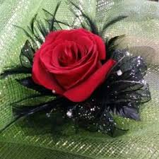 Red Rose Wrist Corsage Flower Delivery In Las Vegas Windmill Floral Expressions