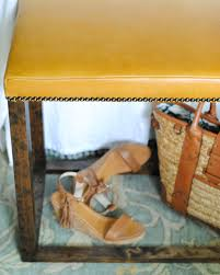 Storage Bedroom Bench Diy Bedroom Bench With Leather Upholstery The Chronicles Of Home