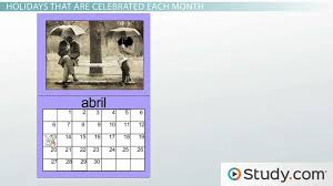 what are the months in spanish video u0026 lesson transcript