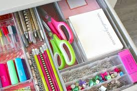Desk Drawer Organizer Remodelaholic Tricks For Organizing Desk Drawers