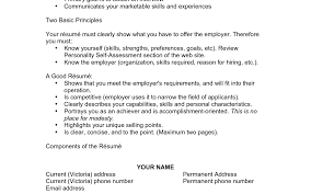 Sample Of Great Resume Cover Letter Outline Sample Of Great Resume Remarkable Example Of