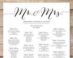 wedding seating chart ideas simple wedding seating chart wedding customizable