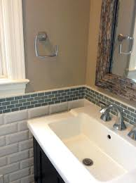 glass tile backsplash in bathroom learn more about glass tile and