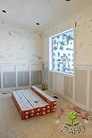 Remodelaholic Inexpensive Board And Batten Wainscot How To