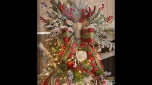 arrange flowers christmas tree decorating and tree topper youtube