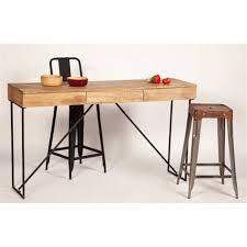 bureau bois acier bureau metal bois bureau design bois et m tal jugend by drawer for