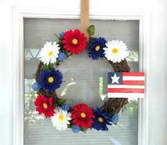 4th of july home decor diy 4th of july wreath for under 10 riss home design home