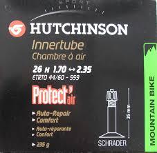 chambre à air butyl hutchinson chambre à air butyl protect air 26 1 70 à 2 35 schrader