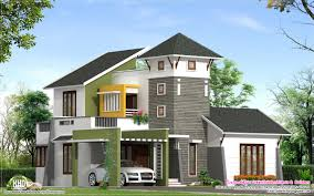unique 2220 sq feet villa elevation house design plans
