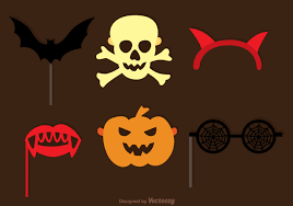 halloween download free halloween photobooth halloween set download free vector art