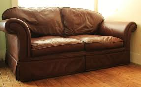 ebay brown leather sofa creating a country manor look with laura ashley furnishings ebay