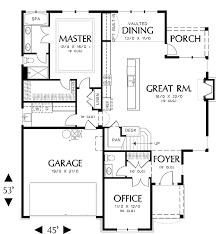 Sample Of Floor Plan For House House Stratham House Plan Green Builder House Plans