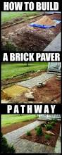 how to build a pavestone home entranceway walkway with brick