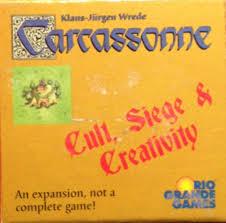 siege of carcassonne carcassonne cult siege creativity board hans im glück