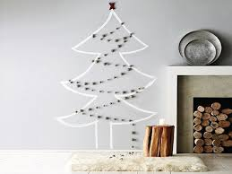 wall christmas tree unconventional christmas tree ideas freshome