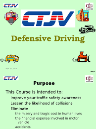 defensive driving ctjv qgii seat belt traffic collision