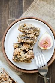 Oatmeal Toppings Bar Oatmeal Fig Bars Gluten Free Vegan Bakerita