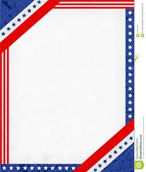 Red White Flag With Blue Star Flag Border Clip Art 11690