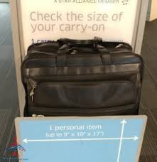 Luggage United Airlines What Are The United And American Airlines Carry On Bag Size