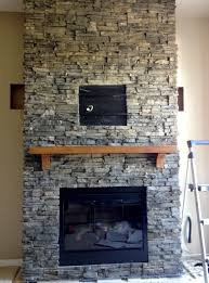 stone fireplace wall fireplace ideas