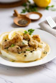 chopped chicken picatta u2013 recipesbnb