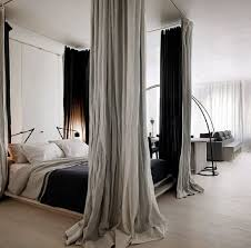 best 25 bed with curtains ideas on pinterest bed curtains