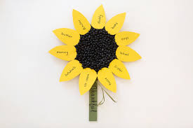 thanksgiving project for kids diy projects sunflower thanksgiving project for kids the