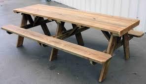 8 foot picnic table plans kids picnic table blueprints beautiful plans 8 foot picnic table