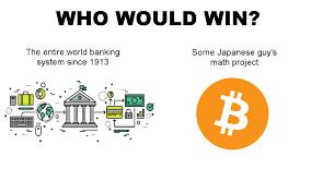 Bitcoin Meme - banks versus bitcoin meme hashrate org emergent financial