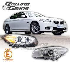 bmw headlights bmw f10 f11 5er european type dual projector headlights