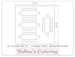 table seating for 20 wedding reception rectangle table layout dcortion win