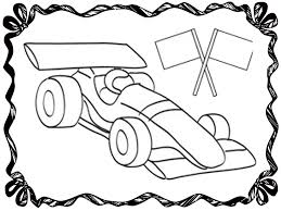 race car coloring page 2433
