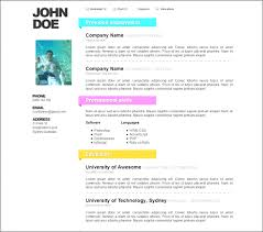 free word resume templates professional free resume template doc free cv template