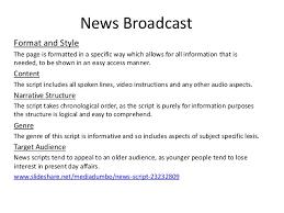how to write television analysis