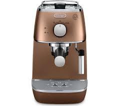 Cheapest Delonghi Toaster Buy Delonghi Distinta Eci341cp Coffee Machine Copper Distinta