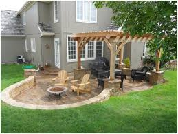 backyards chic backyard patio landscaping ideas outside patio