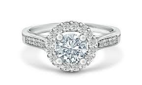 cincin emas putih tiaria dhtxdfj004 perhiasan cincin emas putih dan berlian white