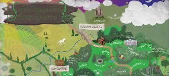 The Forest Map An Enchanting New Forest Map And Villages