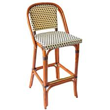furniture parisian bistro counter stools french style rattan