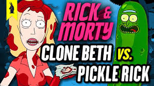 Seeking Season 3 Episode 9 Clone Beth Vs Pickle Rick Does Choice Matter Rick And Morty