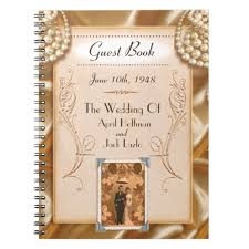 vintage wedding guest book vintage wedding 1940 s guest book template zazzle