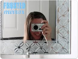 Etched Bathroom Mirror Etched Bathroom Mirror Design Bathroom Mirrors